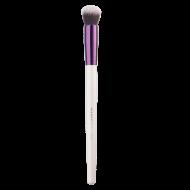 Многофункциональная круглая кисть для кремовых и сухих текстур, растушевки румян и коррекции лица Manly Pro К124: фото