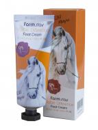 Отзывы Крем для ног с лошадиным маслом FARMSTAY Visible Difference Foot Cream Jeju Mayu 100мл