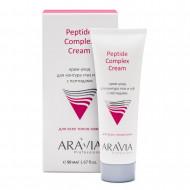 Крем-уход для контура глаз и губ с пептидами ARAVIA Professional Peptide Complex Cream 50 мл: фото