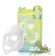 Маска тканевая с чайным деревом ELIZAVECCA Tea tree deep power ringer mask pack 23мл*10шт: фото