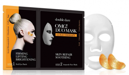 Двухкомпонентный комплекс из маски и патчей Double Dare OMG! DUO СМЯГЧЕНИЕ и ВОССТАНОВЛЕНИЕ: фото