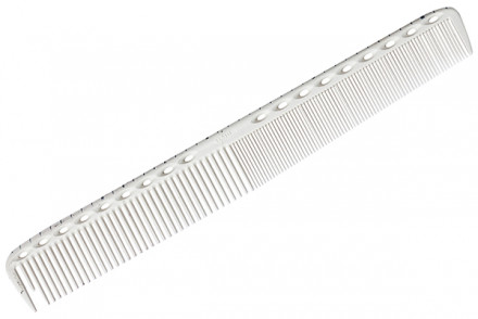 Расческа для стрижки с линейкой Y.S.PARK G35 белая: фото