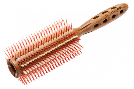 Брашинг для укладки волос деревянный Y.S.PARK SUPER-G YS-66Gw0 65мм: фото