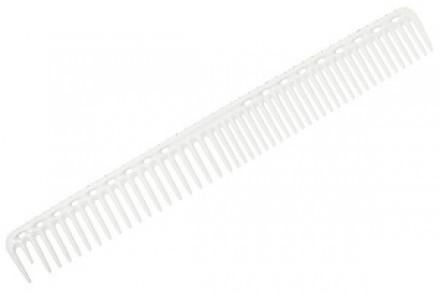 Расческа для стрижки с линейкой Y.S.PARK G33 белая: фото