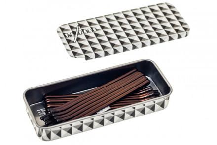 Невидимки гладкие 65мм Y.S.PARK YS-800 коричневые 14шт: фото