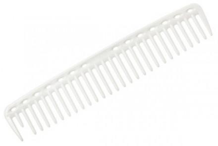 Расческа для стрижки редкозубая Y.S.PARK YS-452 белая: фото